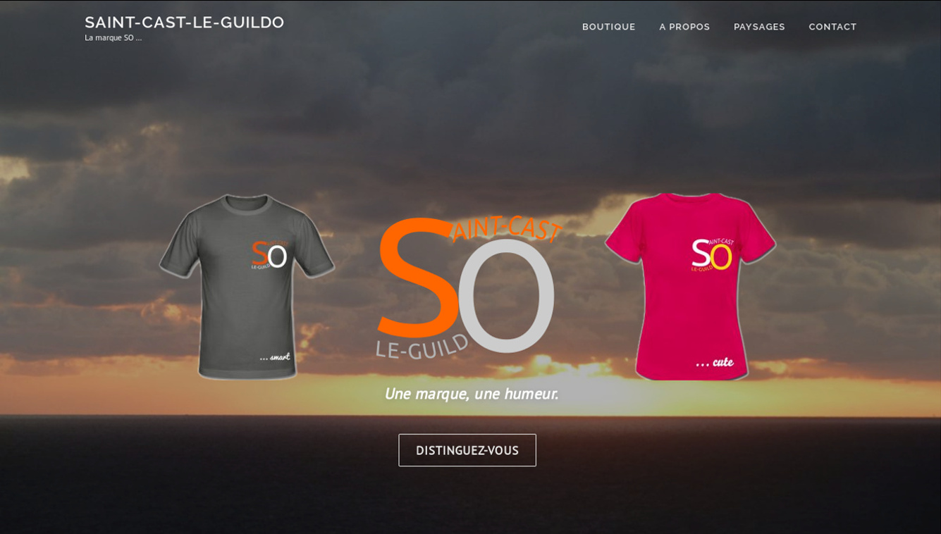 T-shirts et pulls Saint-Cast. Saint-cast-le-guildo.com - Creation de site web avec Bigot Consulting